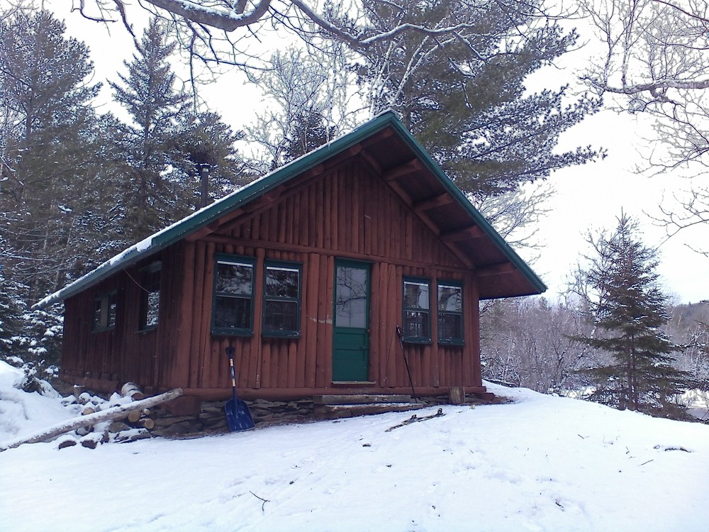 Haskell Hut (Credit: Maine Trail Finder)