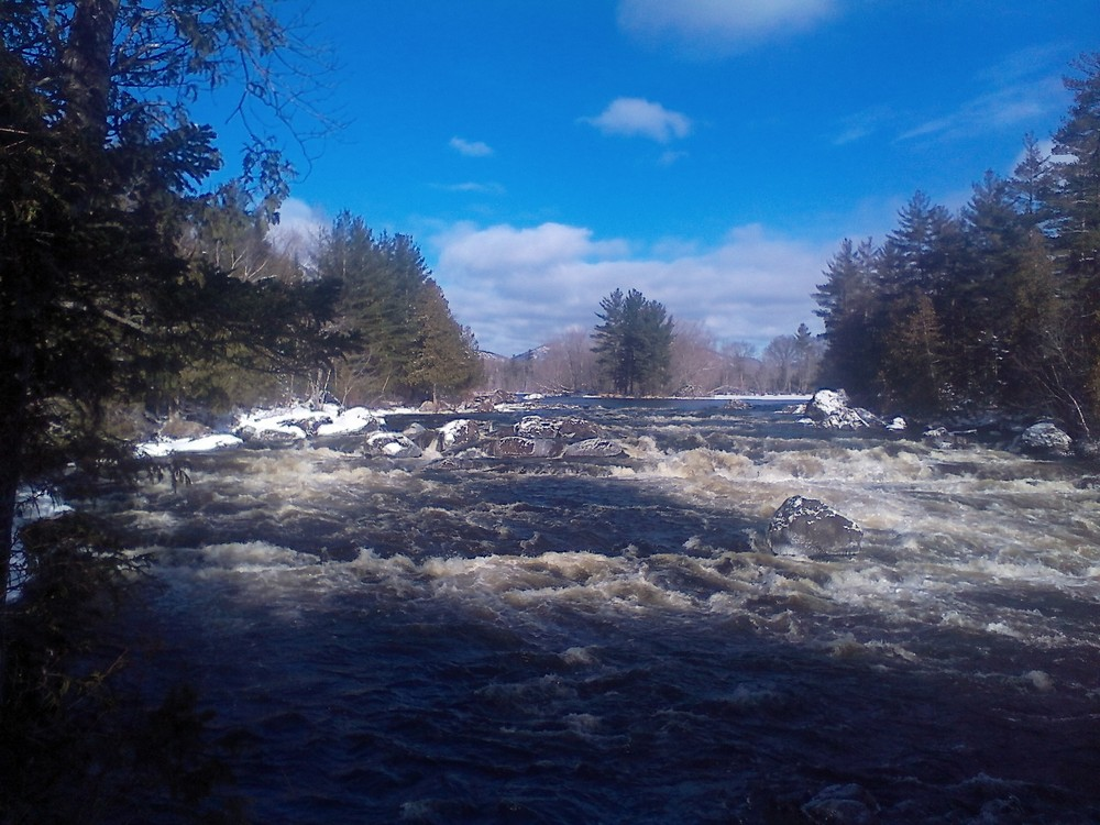 Haskell Rock Pitch in winter (Credit: Maine Trail Finder)