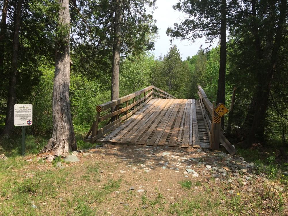 Bridge of the Rangeley River (Credit: Maine Trail Finder)