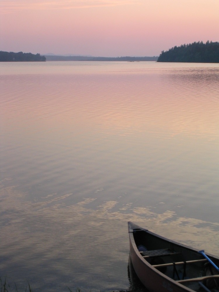 Camping at Lower Narrows on Long Pond (Credit: Nicole Grohoski)