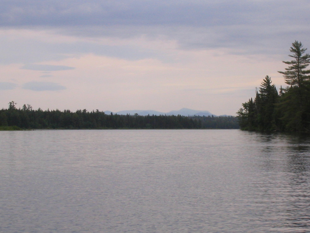 Down the West Branch to Chesuncook Lake (Credit: Nicole Grohoski)