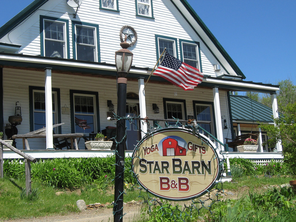Star Barn North of Trailhead in Madrid (Credit: High Peaks Alliance)