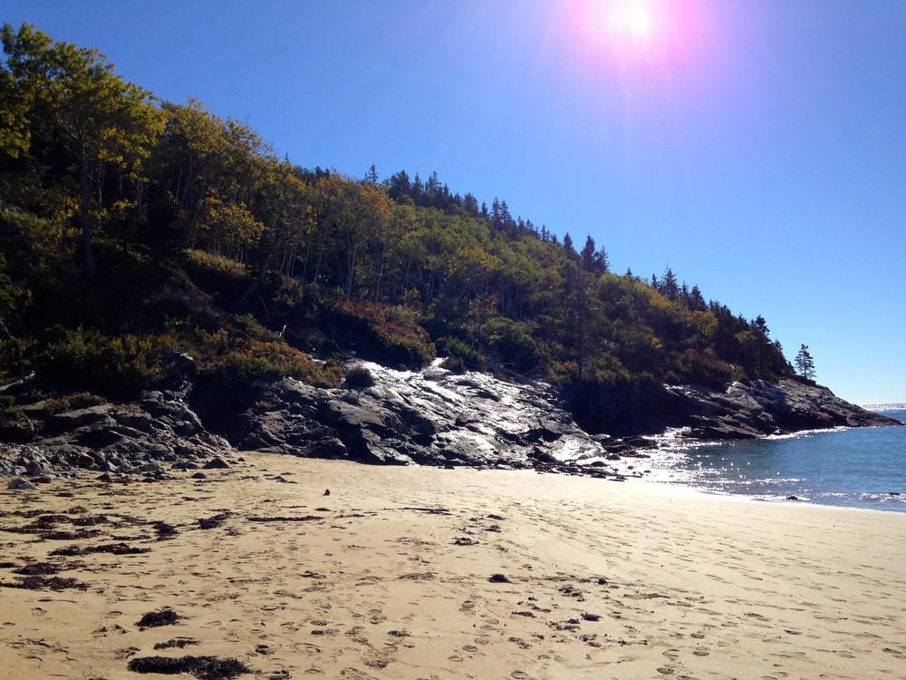 Sand Beach (Credit: National Park Service)