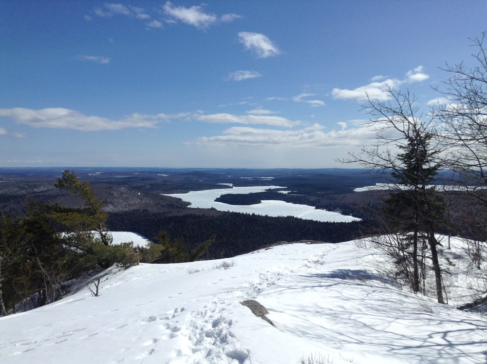 View of Spring River Lake from Tunk Mountain (Credit: Nicole Grohoski)