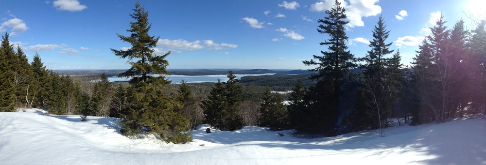 Looking East from Caribou Mountain (Credit: Nicole Grohoski)