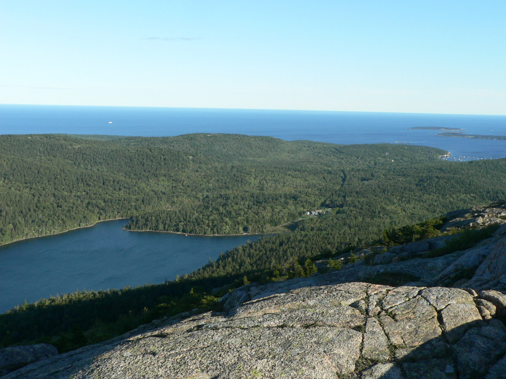 Jordan Pond from the Summit of Penobscot Mountain (Credit: National Park Service)