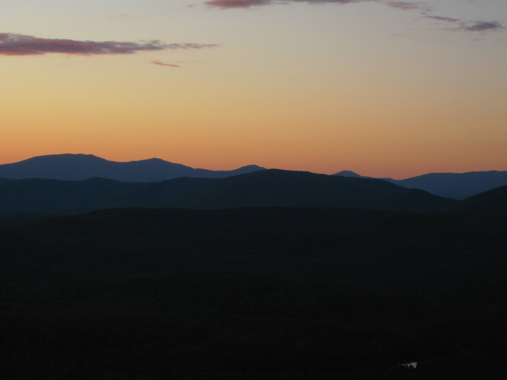 Sunset View of the High Peaks Region (Credit: High Peaks Alliance)