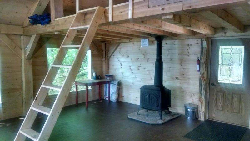 Little Dyer Cabin (Credit: Midcoast Conservancy)