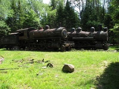 Abandoned locomotives, Tramway Carry (Credit: ME BPL)