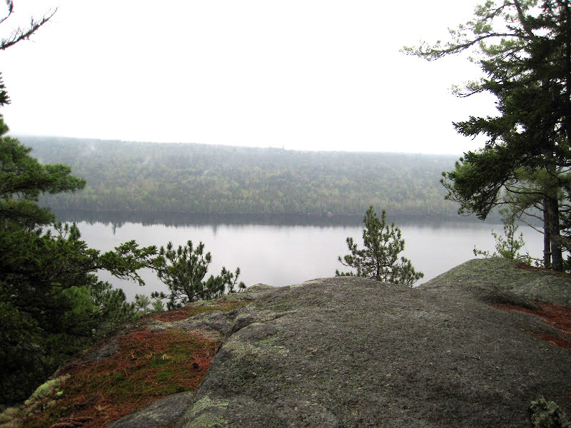 Looking across First Debsconeag Lake (Credit: Bill Geller)
