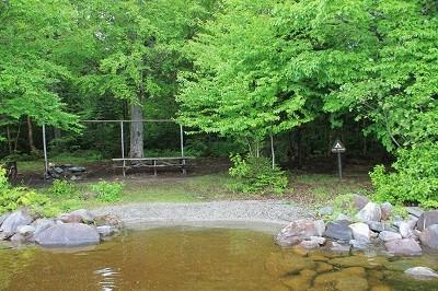 Lost Spring Campsite, Chamberlain Lake (Credit: ME BPL)