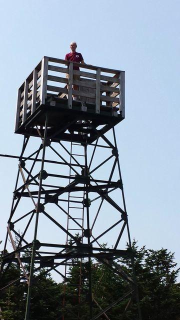Old Speck observation tower (Credit: Bigeloafah)