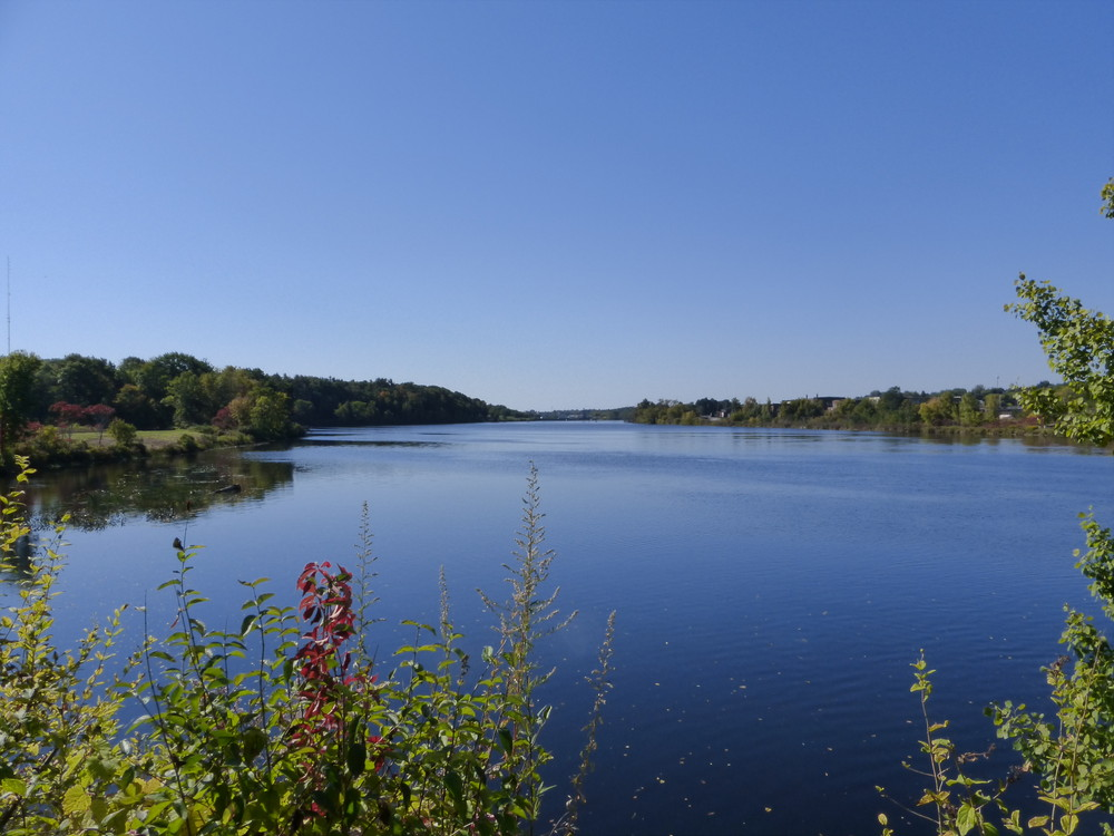 Another look at the Kennebec from the trail. (Credit: Chris Nason)