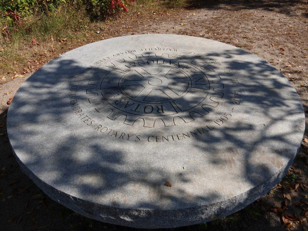The Rotary stone. (Credit: Chris Nason)