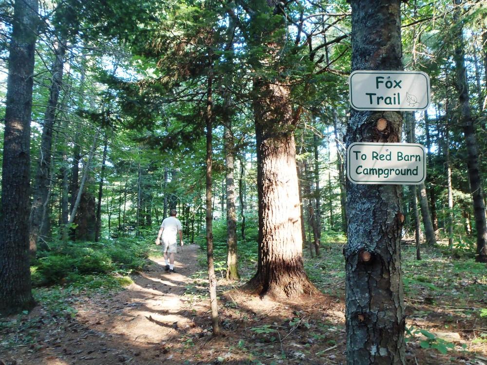Trail Signage (Credit: Joanne Alex)