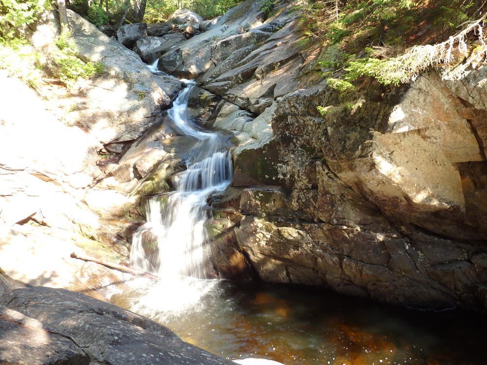 Lower Cascade Stream Gorge, Maine (Credit: Robert Ratford)