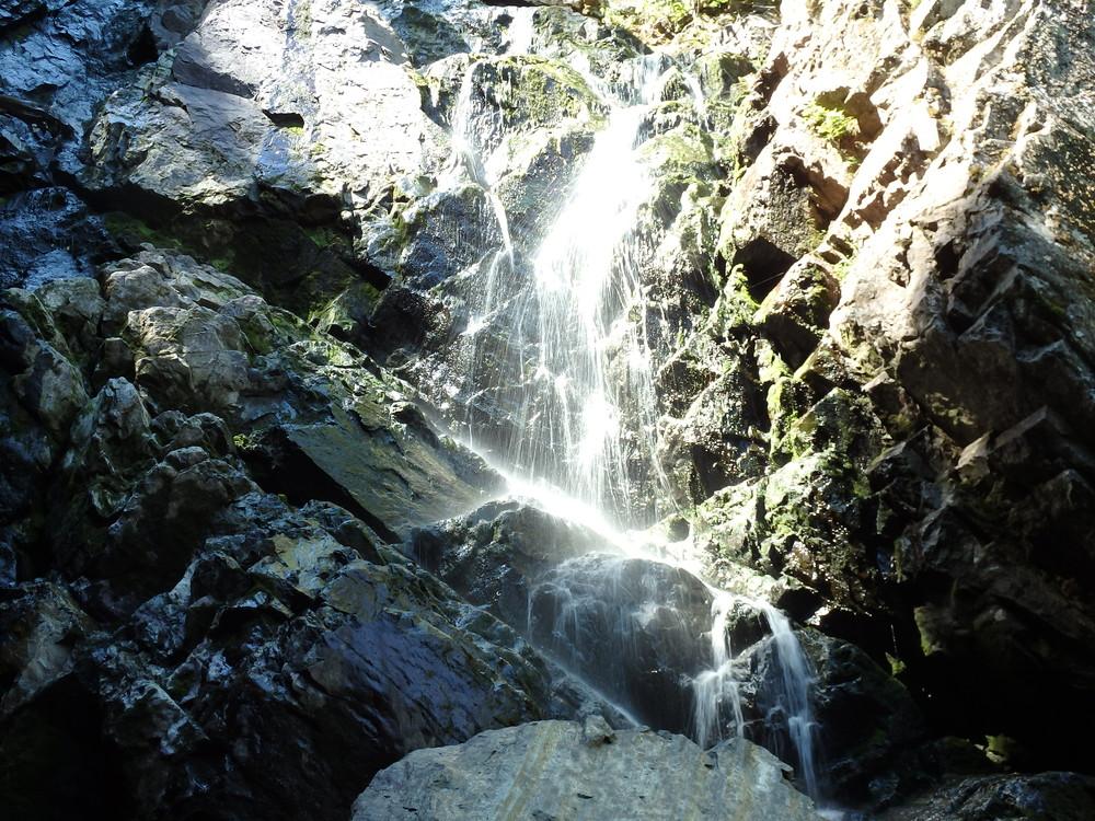 Angle Falls, Bottom 50ft. (Credit: Robert Ratford)