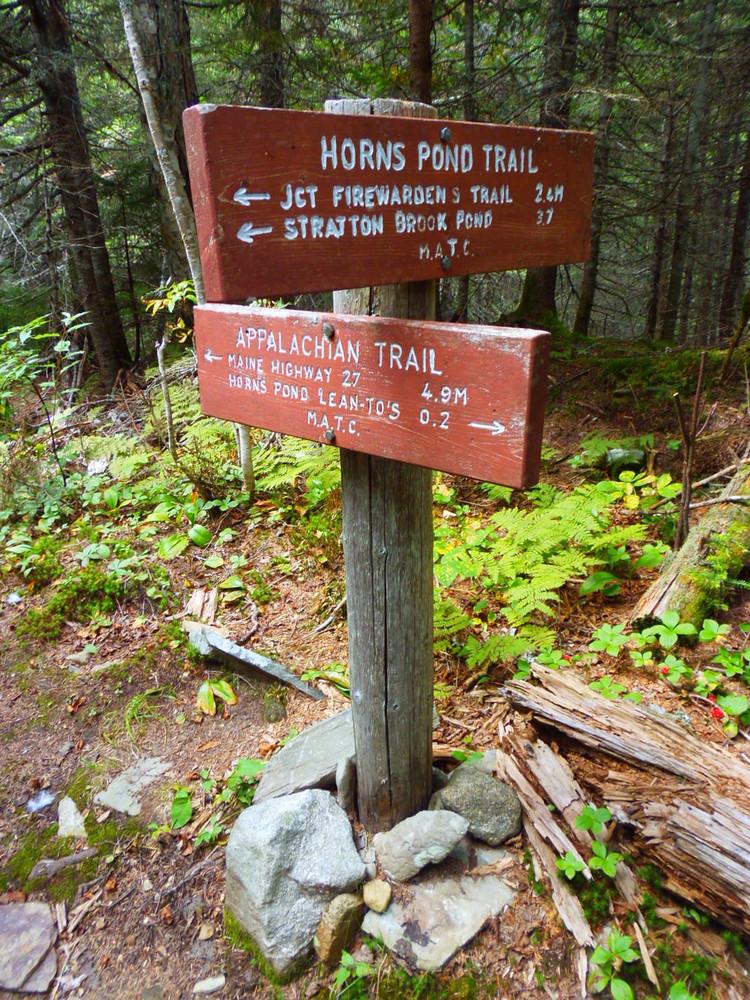 Trail marker (Credit: Robert Ratford)