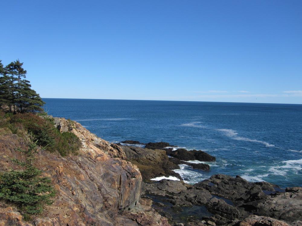 The Rocky Coast (Credit: National Park Service)