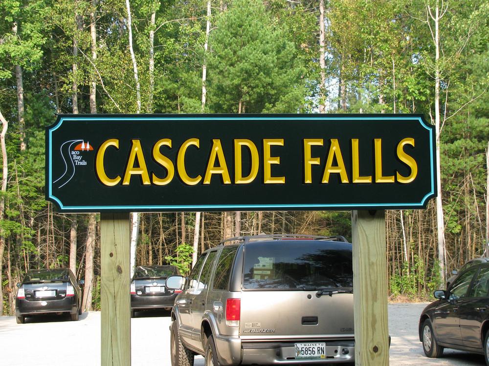 Preserve Sign (Credit: Saco Bay Trails)