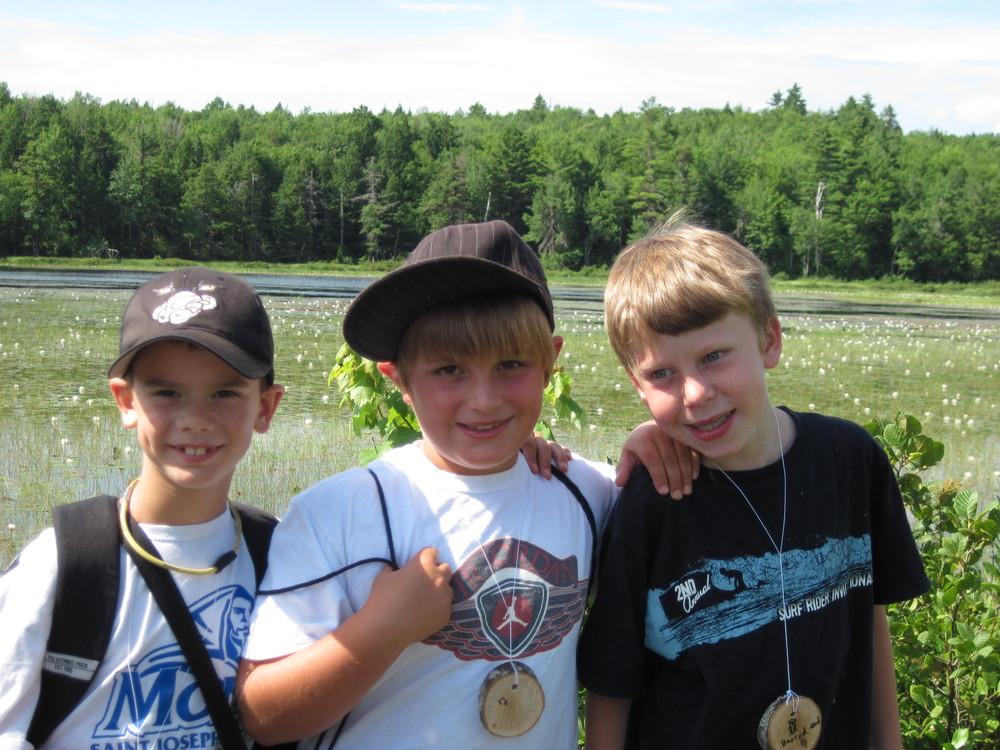 LEA-Run Youth Programs at Holt Pond (Credit: Lakes Environmental Association)
