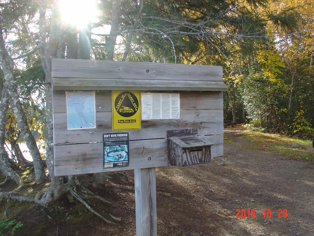 Signs at Dock Trails (Credit: Joyce Bradway)