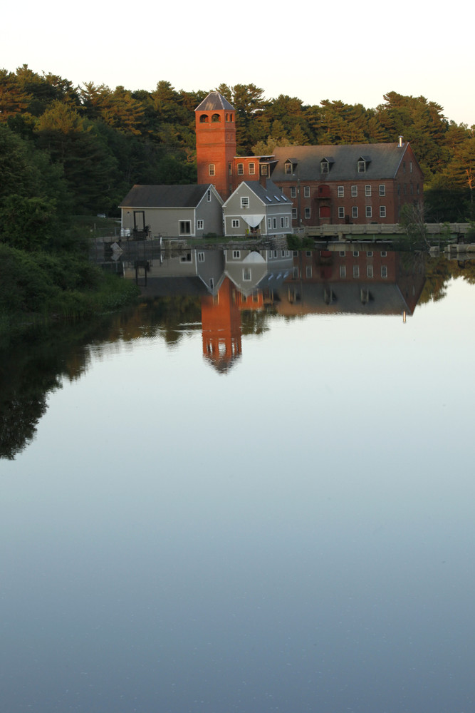 Sparhawk Mill before dam removal (Credit: Zoe Theberge)