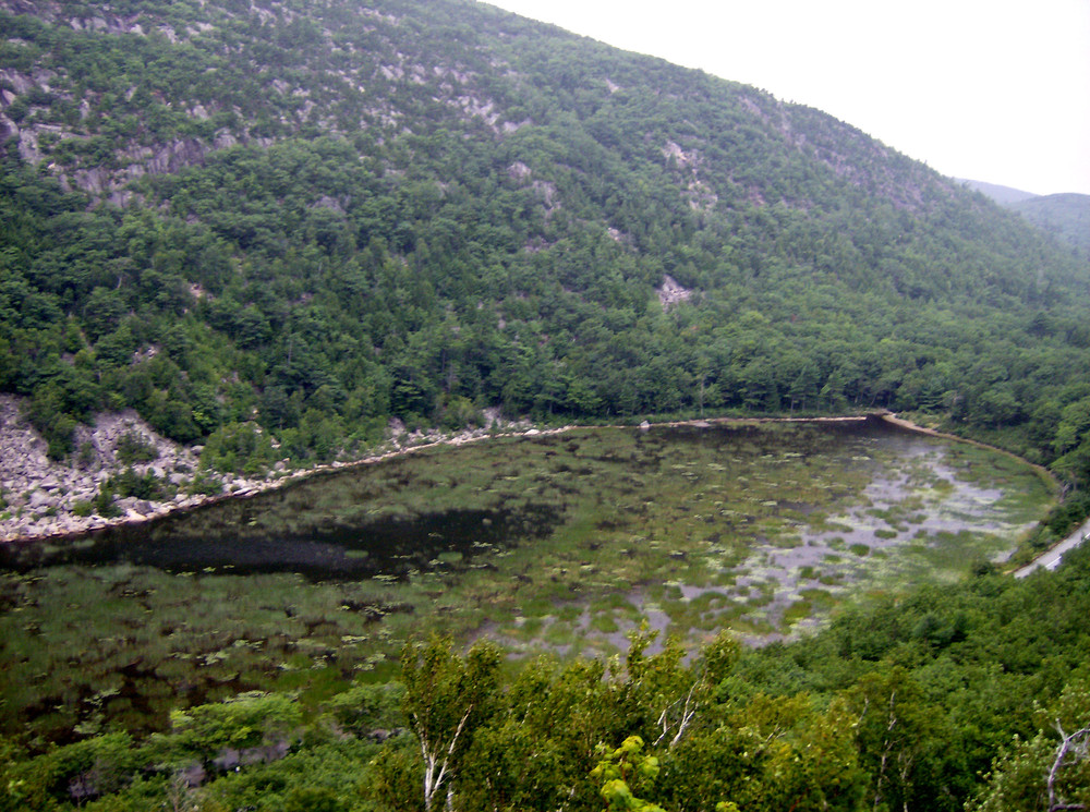 The Tarn from the Beachcroft Trail (Credit: National Park Service)