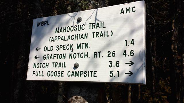 Your options at Speck Pond (Credit: Bigeloafah)
