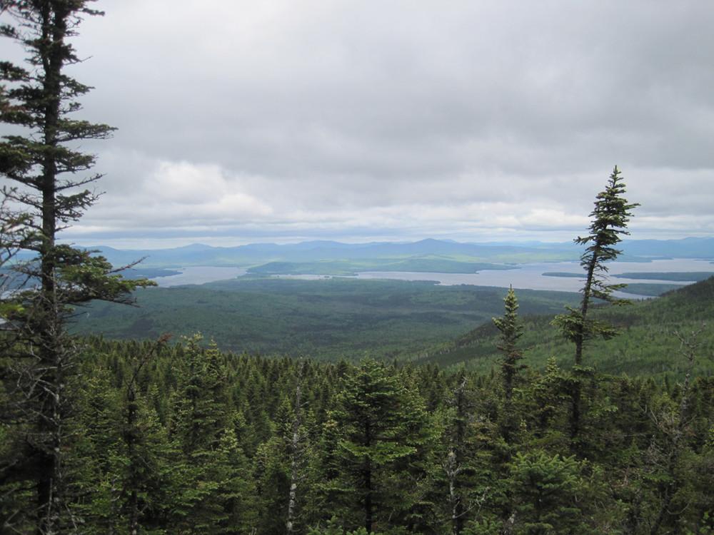 Upper Richardson Lake and Mooselookmeguntic Lake (Credit: Bill Geller)