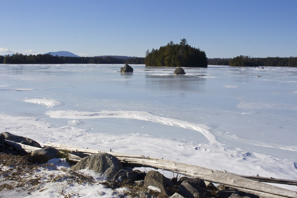 Bait Hole in the winter (Credit: Bangor Daily News)