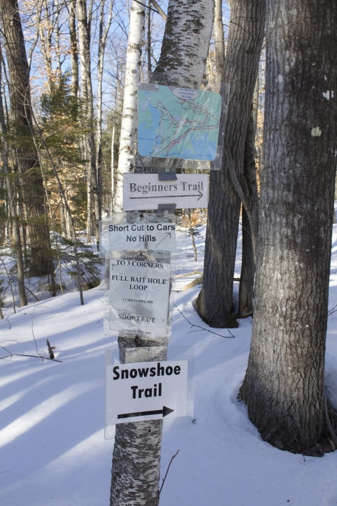 Signs lead the way  (Credit: Bangor Daily News )