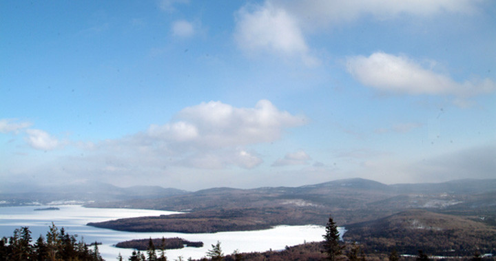 Winter View from Bald Mountain (Credit: Maine Bureau of Parks and Lands)