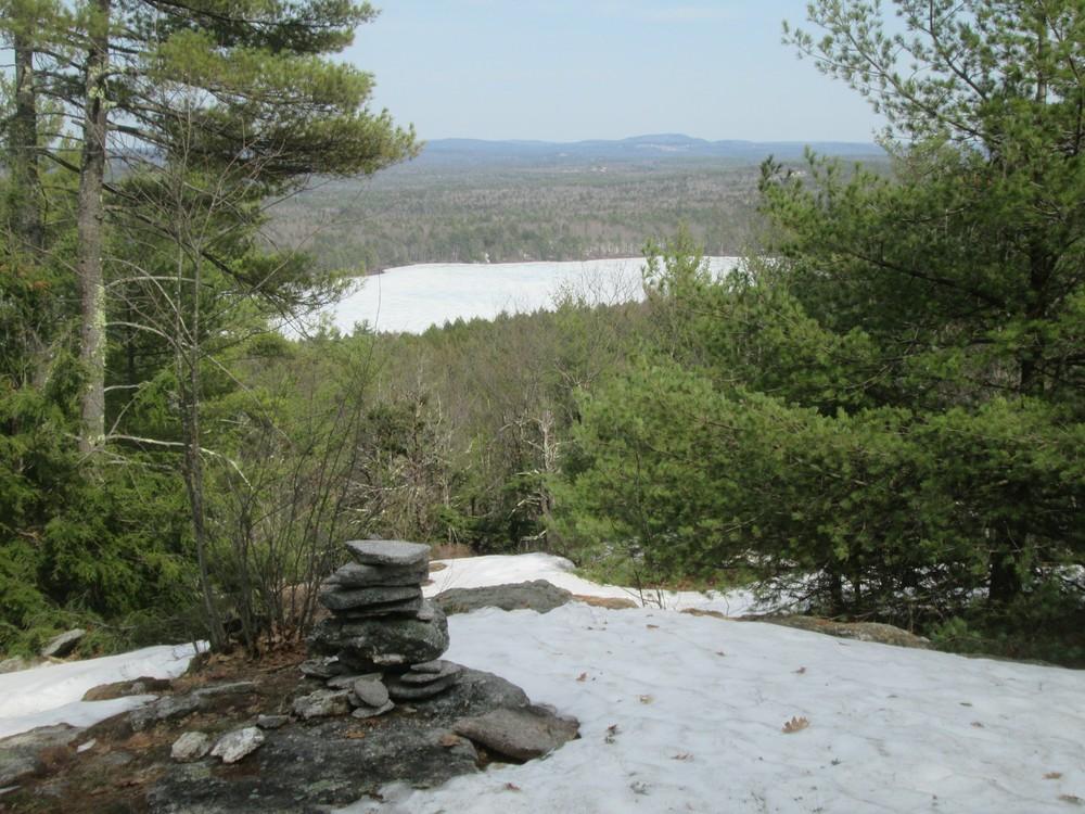 Foster Pond Lookout, April 2017 (Credit: Roger Brown)