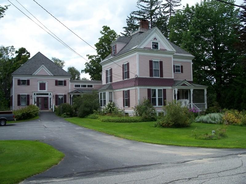 Herrick House, 1885 (Credit: Bethel Historical Society)