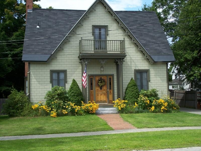 Albert Stiles House, ca. 1852 (Credit: Bethel Historical Society)
