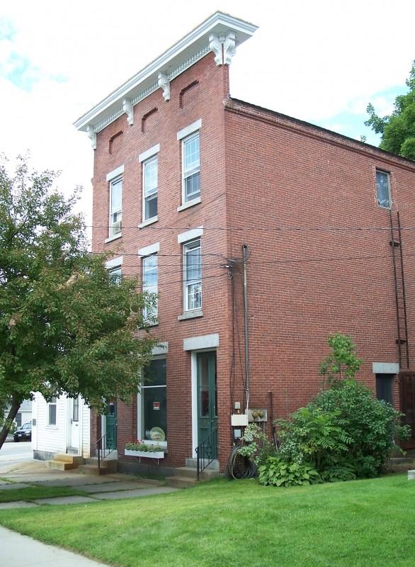 Chapman Block, 1860 (Credit: Bethel Historical Society)