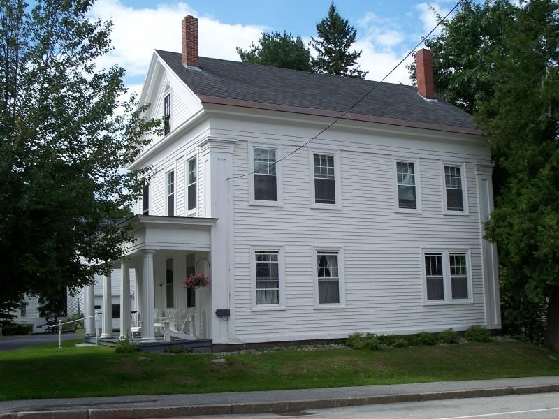 Tibbetts House, ca. 1850 (Credit: Bethel Historical Society)