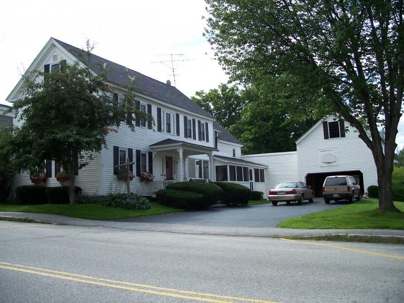 Marshall Bonney House, ca. 1820 (Credit: Bethel Historical Society)