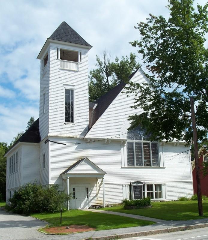Methodist Church, 1892-3 (Credit: Bethel Historical Society)