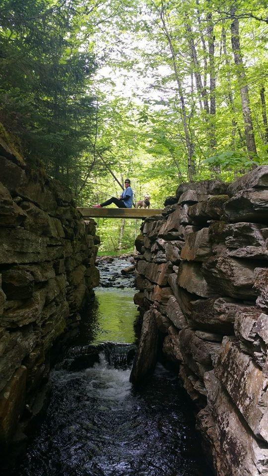 Bridge near Route 4 - walk 2 minutes downhill (Credit: jralbert21)