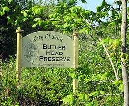 Sign for the preserve (Credit: bathforestry.com)