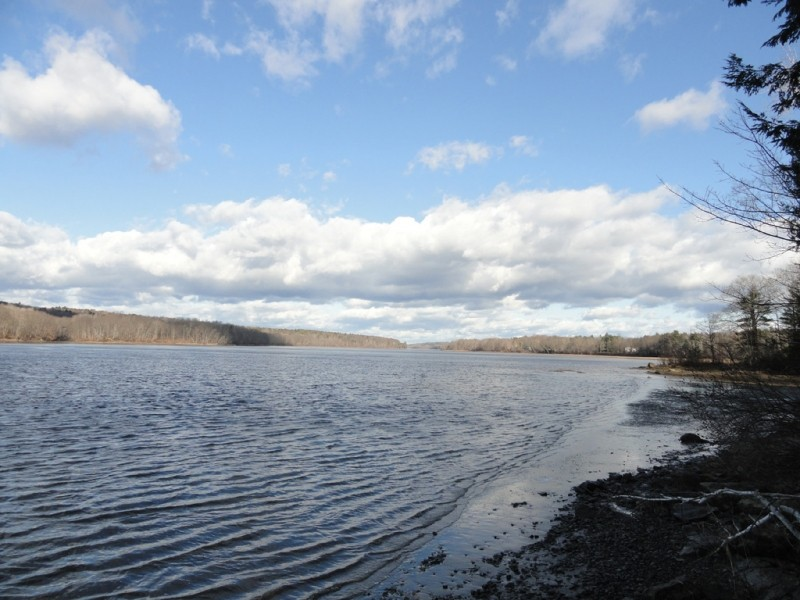 View over Kennebec River (Credit: Center for Community GIS)