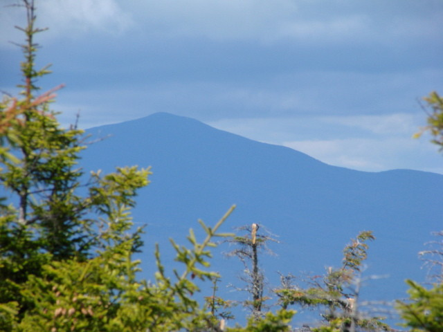 Several Scenic Overlooks Include Views of Nearby Mount Blue (Credit: Susan Mathias)