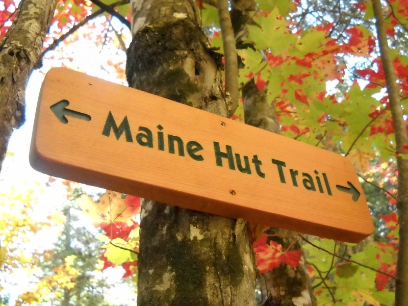 Maine Hut Trail (Credit: Center for Community GIS)