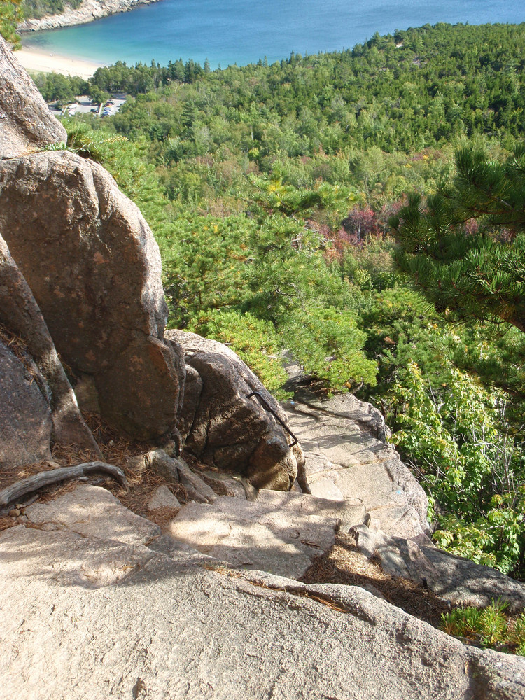 Exposed Section of the Trail (Credit: National Park Service)