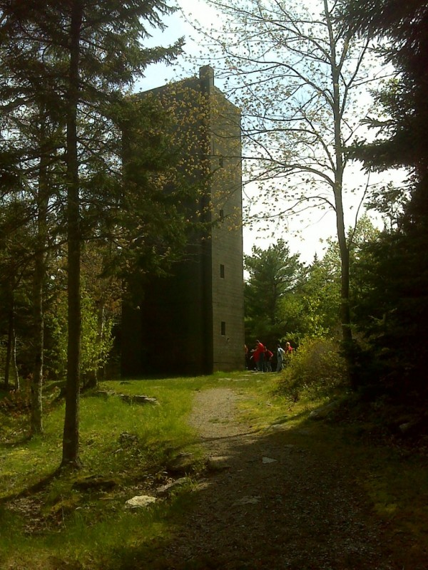 Fort Baldwin Tower (Credit: Maine Bureau of Parks and Lands)