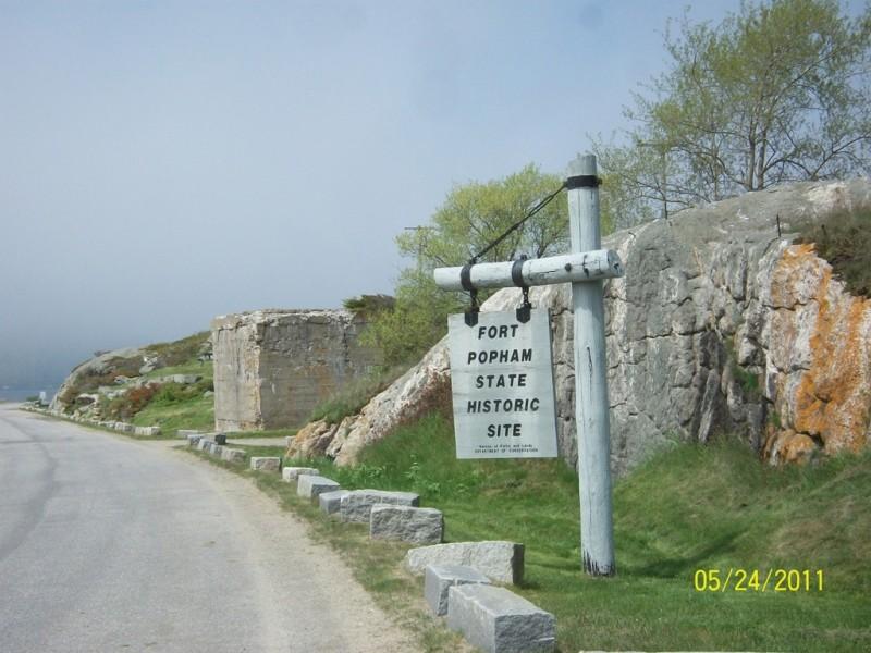 Fort Popham (Credit: Maine Bureau of Parks and Lands)