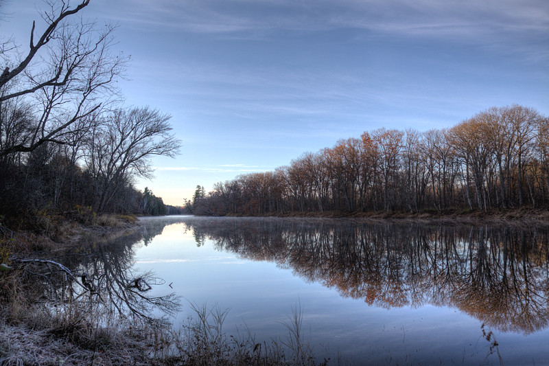 East Branch of the Penobscot at Lunksoos Camps (Credit: Bill Duffy)
