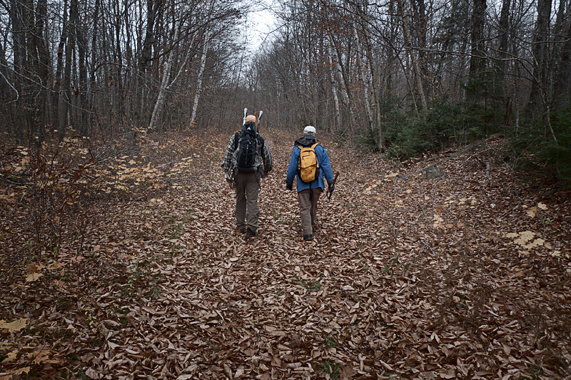 Hikers on the IAT (Credit: Bill Duffy)